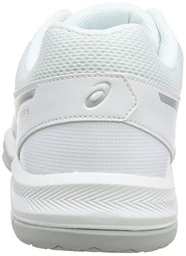5 Tennis Silver Donna white Da Scarpe Asics Gel Bianco dedicate xYRFFEz