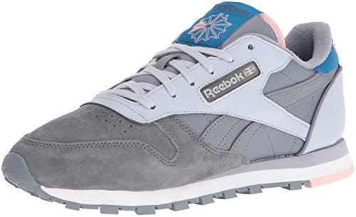 Sneaker Reebok Lthr CL Cld EB Fashion G Asteroid Women's Dust Alloy qfxwfB6Xp