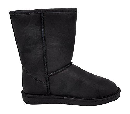 Smooth Black BEARPAW Short Emma Women's Boot Snow qXY0zX