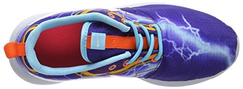 Nike Sneaker Roshe One Print (Gs) Mehrfarbig (Deep Royal Blue/White-University Gold-El)