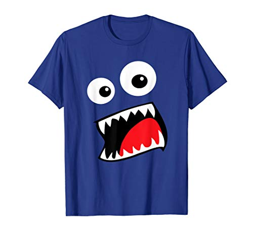Monster Halloween Costume Shirt Funny Couple Group Ideas]()