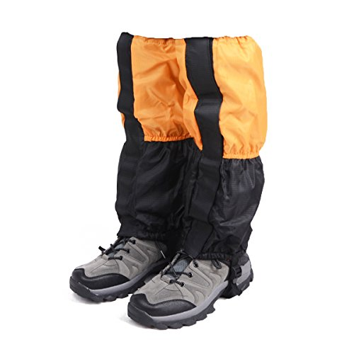 TRIWONDER Fleece-Lined Snow Leg Gaiters Waterproof Boot Gators Hiking Gaiters for Kids Men Women Lightweight Walking Climbing Hunting Cycling Leggings Cover