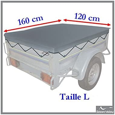 Green Valley T2 154802 Tarpaulin for Trailer 160 x 120 cm
