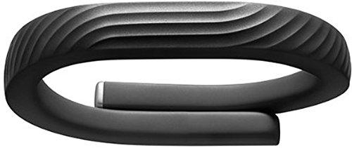 Jawbone UP24 Bluetooth Aktivitäts/Schlaftracker-Armband (Größe M) schwarz für Apple iOS und Android