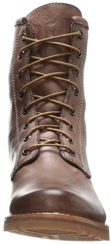 Veronica Grey Women's Vintage Soft FRYE Leather Boot Combat 5wSqppI