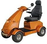 "E-Wheels - EW-72 Heavy Duty Scooter - 4-Wheel - 18.5""W x 17""D - Red - PHILLIPS POWER PACKAGE TM - TO $500 VALUE"