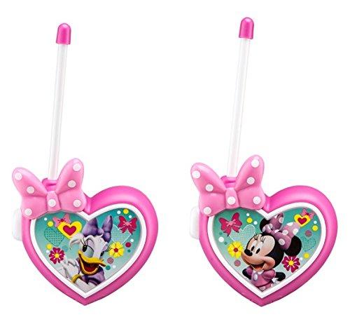 eKids Disney Junior Minnie Mouse Daisy Duck Kid Friendly Walkie Talkies for Children -  Kid Designs, MM-202