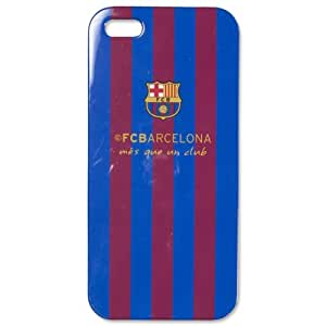 Original FC Barcelona Phone Case for IPHONE 5 / 5S Hard Case Mobile Phone Panel 2015 Blue / Red