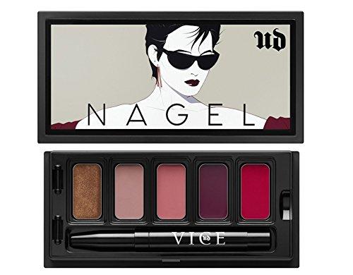 UD Urban NAGEL Vice Lipstick Limited Edition SUNGLASSES Palette: Roach + Oblivion + Backtalk + Troublemaker + - Maker Sunglass