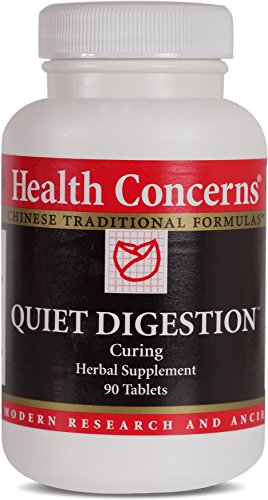 Health Concerns – Quiet Digestion – Curing Herbal Supplement – 90 Tablets