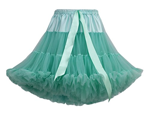 Jupe Genou Femme Lumire Tulle Underkirt Pettiskirt Princesse Jupe Petticoat Jupon Sous Courte au Vert Tutu r8q8xnaZOE