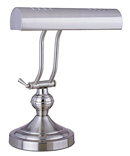 Boston Harbor ATB-8004 Piano Desk Lamp, Satin Nickel