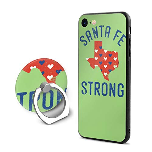 Santa Fe Strong iPhone 7/8 Case with 360 Rotating Ring Holder Slim Fit Hard PC Protective Shock-Absorption Anti-Scratch Case Back Cover for iPhone 7/8
