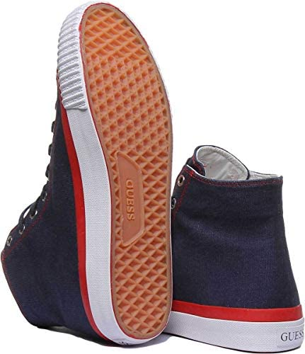 Guess Fm6Mlbfab12 Trainers in Navy (44 EU, Navy)