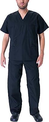 Natural Workwear Mens Premium EDS Medical Dental Uniform Scrub Set