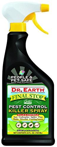 Bug Rtu 24 Oz (Dr. Earth Final Stop Pest Control Killer Spray 24 oz RTU)