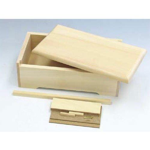 蝶番不用オルゴール箱【木彫・木工芸 オルゴール】BB41312