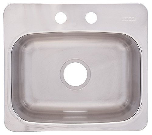 FrankeUSA BMSK802 Single Bowl Stainless Steel 19 1/8x 17in. Topmount Sink
