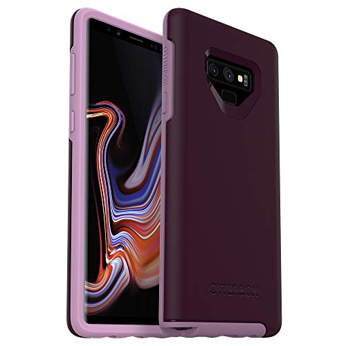 OtterBox Symmetry Series Case for Samsung Galaxy Note9 - Frustration Free Packaging - Tonic Violet (Winter Bloom/Lavender Mist)