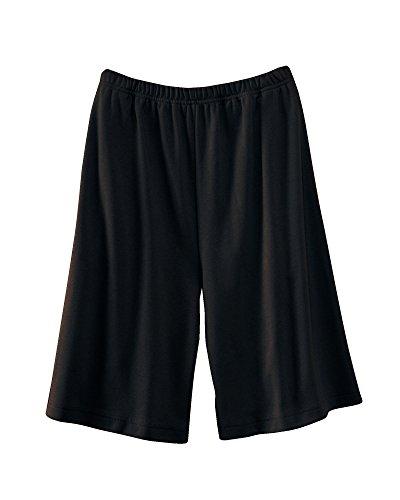 Ultrasofts Knit Shorts, Black, 1X ()