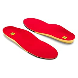 Spenco PolySorb Yellow Red Running Insole 5 6 Men\'s