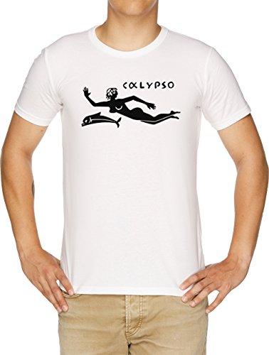 Bianco Calypso Uomo T Vendax shirt IfvcTAq7w
