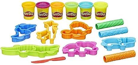 Play-Doh Hasbro Maken Mix Zoo Arcilla de modelar 6pieza(s) - Compuestos para cerámica y modelaje (Arcilla de modelar,, Niños, 3 año(s), Niño/niña, ...
