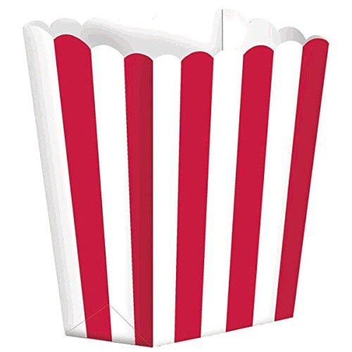 Little Buddy - Caja de regalo pequeña para niños con forma de palomitas de maíz, color azul, cartón, Apple Red Popcorn...