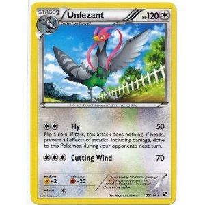 Pokemon Black & White Single Card Unfezant #86 Rare
