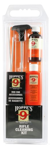 Hoppe's No. 9 Cleaning Kit with Aluminum Rod, 6mm/6.5mm - 6 Caliber Rifle Mm