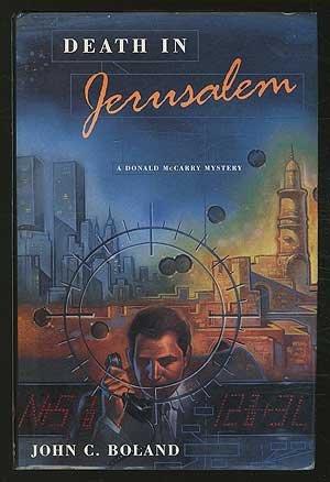 book cover of Death in Jerusalem