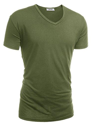 Classic Army Green T-shirt - 1
