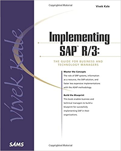 Implementing sap r3 the guide for business and technology managers implementing sap r3 the guide for business and technology managers 1st edition malvernweather Images