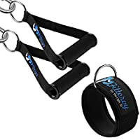 Fitteroy Cable Machine Attachments Handles and Ankle...