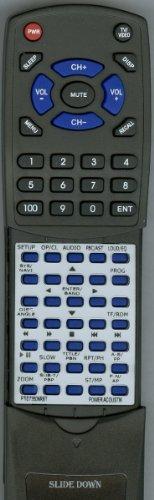 (Replacement Remote Control for POWER ACOUSTIK PTID8970NRB, PTID7000NR, PTID7350NRBT, PTID7000NRT)