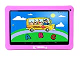 LINSAY NEW F10XHDKIDSPINK Quad Core Tablet