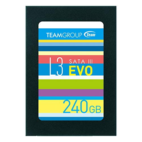 TEAMGROUP Ultra L3 EVO 120GB 2.5 Inch SATA III Internal Solid State Drive SSD (Read/Write Speed up to 530/400 MB/s) T253LE120GTC101