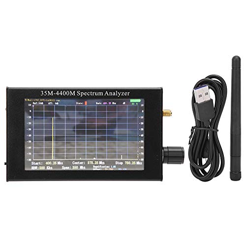 USB Frequentie Spectrograaf Eenvoudige Spectrum Analyzer Spectrum Analyzer Handheld Eenvoudige Aluminiumlegering…