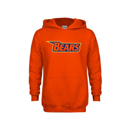 Morgan State Youth Orange Fleece Hoodie Bears