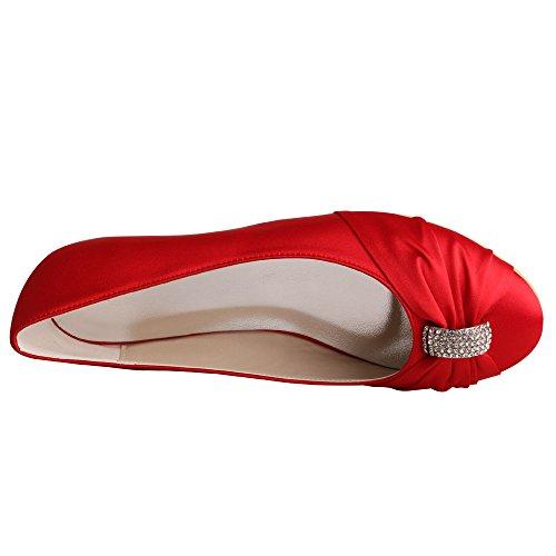 mujer Wedopus Red Wedopus mujer Red Ballet Ballet Ballet Wedopus UqWRwWvPBT