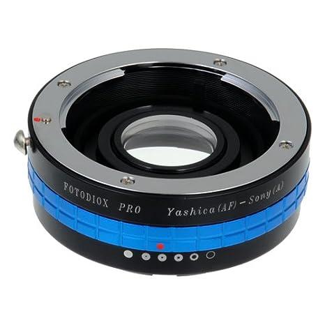 Fotodiox Pro - Adaptador de Objetivos Yashica AF para Montura de ...