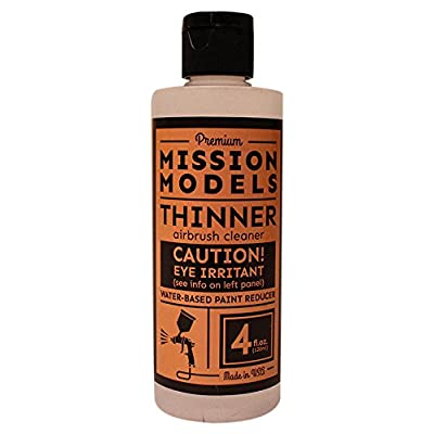 Mission Models MMA-003 RC Paint 4 oz Bottle Thinner/Reducer: Toys & Games