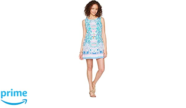 ebd0aaebe3d8 Amazon.com  Lilly Pulitzer Women s Donna Romper Multi Feel The Beat  Engineered 0  Clothing