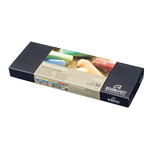 Rembrandt Soft Pastels Basic 30 Half Stick Set 300C30.5