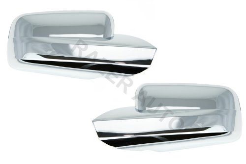 Razer Auto CHROME MIRROR COVER for 2005-2009 FORD MUSTANG (Mustang Mirror Covers)