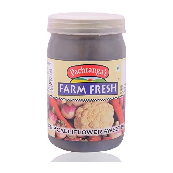 Pachranga Farm Fresh Turnip Cauliflower Carrot Pickle - 400 Gram
