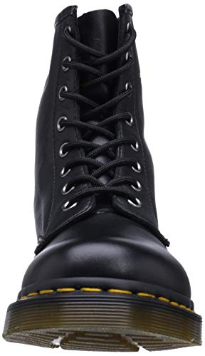 Smooth Scarpe Nero Martens Basse Donna Milled Brogue Dr Stringate 1460 q4gwttp