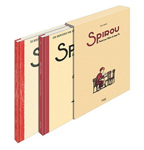 Spirou & Fantasio Jubiläumsschuber: Porträt eines Helden als junger Tor (Spirou & Fantasio Spezial)