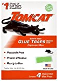Scotts-Tomcat 0362710 Mouse Glue Traps, Super Hold, 4-Pk. - Quantity 12