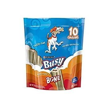 Amazon.com : Busy Bone, Adult Dog Treats, 10 Ct. Tiny
